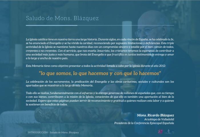 Memoria Anual de Actividades de la Iglesia en España  (1)
