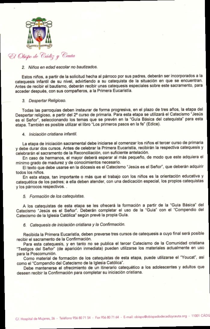 DECRETO NORMAS DIOCESANAS INICIACION CRISTIANA (2)