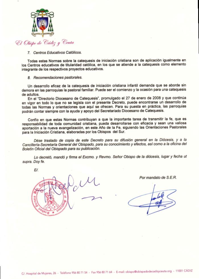 DECRETO NORMAS DIOCESANAS INICIACION CRISTIANA (3)